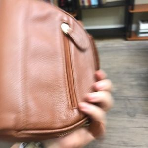 Bags - Lily Jade accessory bags pouches- in camel small
